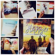 """Collage zum Buch """"Hunger"""" von Daniel Gröber"""
