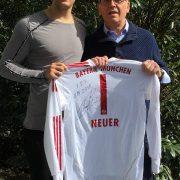 Manuel Neuer und sein Vater Peter Neuer