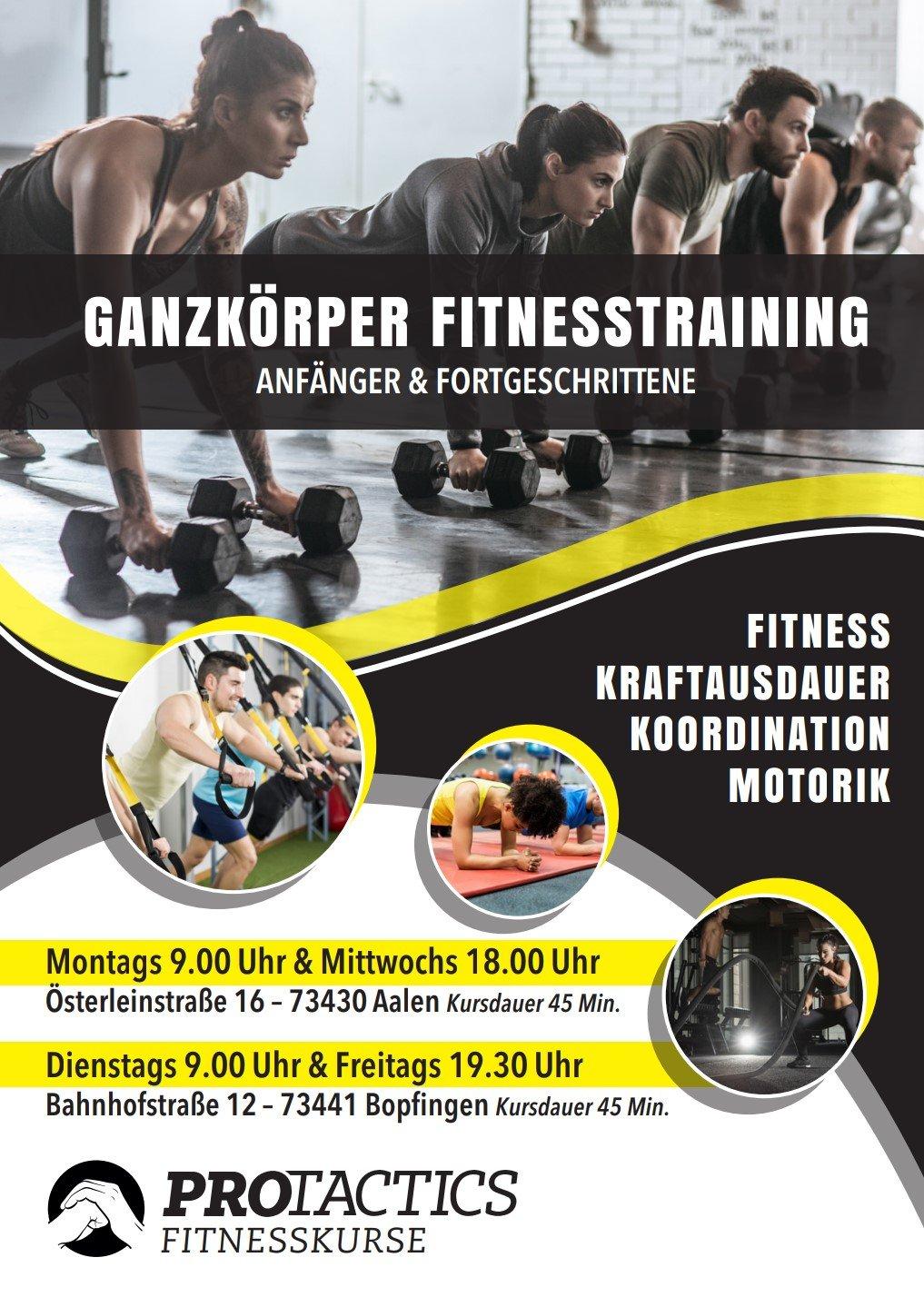 Protactics Fitnesskurse